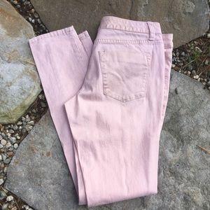 MOSSIMO Metallic Pink Skinny Jeans